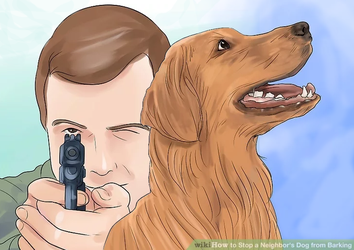 How to Stop the Neighbor's Dog From Barking by WikihowRejects