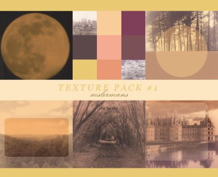 TEXTURE PACK 1 by mslermans