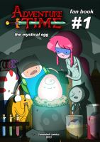 adventure time comics! by carumbell