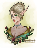 Commission: Elariah Silvervale by Mimssi