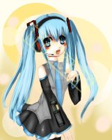 Hatsune Miku: Print by Sironien-Winter
