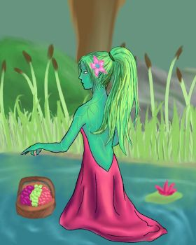 -Lady of the Pond- by SaphyreMelodies