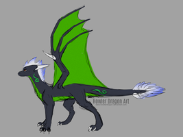 Concept | Young Tori by HowlerDragon