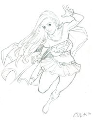 Supergirl by Colaffee