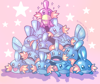 Mudkips by EverlastingDerp