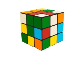 Rubik Cube Free Vector by superawesomevectors