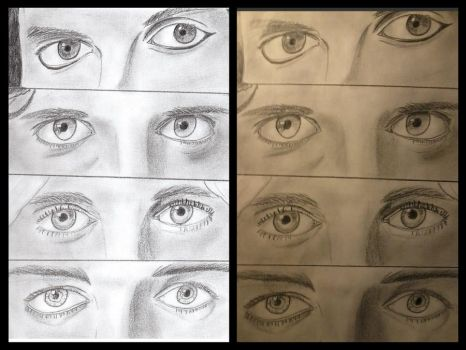 Drawn Eyes Theory by Fairy-of-the-valley