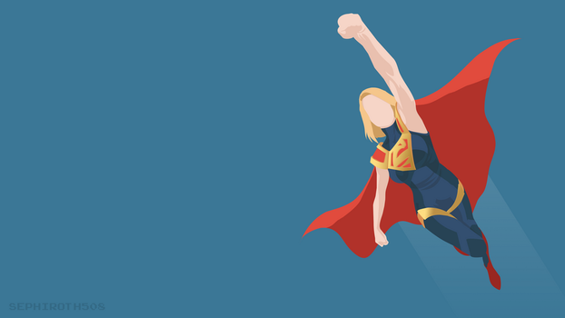 Supergirl | Injustice 2 | Minimalist by Sephiroth508