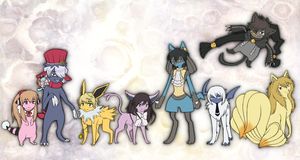 Pandora Hearts Pokemon