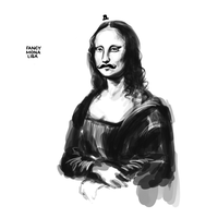 Fancy Mona Lisa by arseniic