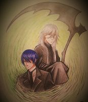 Undertaker and Vincent by acrevan