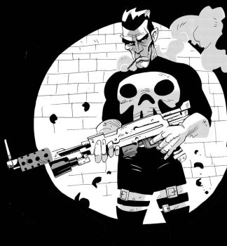 punisher commision by Robbi462