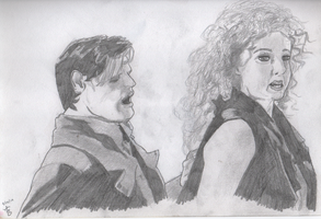 The Doctor and River Song by SallyGreenday