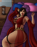 Kaileena Bed Clothed by peregrinelewds