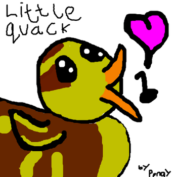 Little Quack by RachyTehPengie