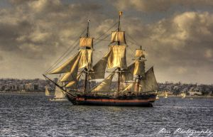 Pirate ship by PMSTW