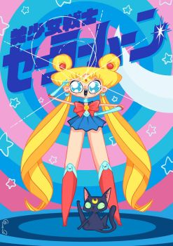 Sailor Moon by lost-angel-less