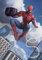 Spider Man by hunky-dory-artist
