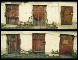 two x three doors 2 by klopmaster