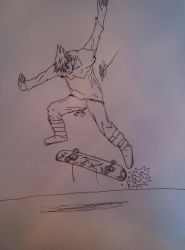 Boots the skater by Grassman101