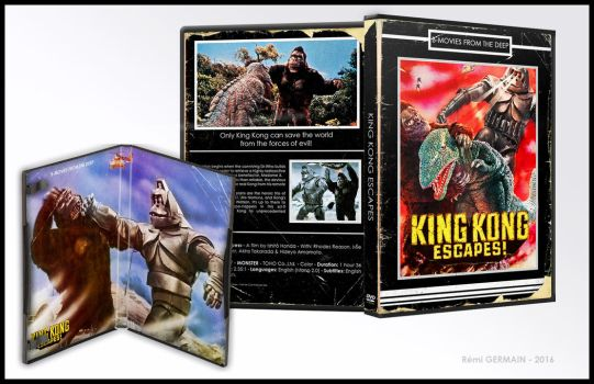 [Retro-DVD cover] - King Kong Escapes by ChokaVonChicken