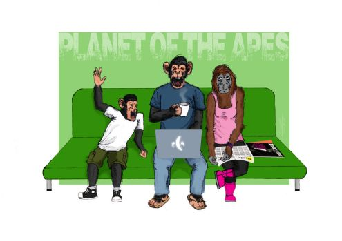 Planet of the Apes by SumtimesIplaytheFool