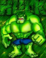 The Incredible Hulk by DrAlpha