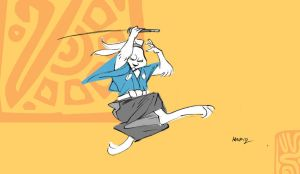 Usagi Yojimbo by Alec-M
