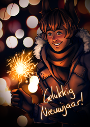 Happy 2018! by Gintijd