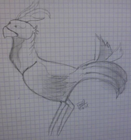 Chocobo by LoiseFenollCreation