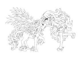 bubbles and pixie... by sureya