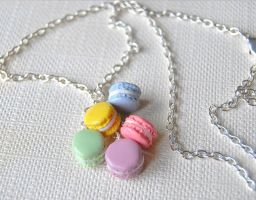 Macaroon Charm  Necklace by Madizzo