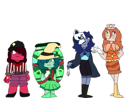 {Gem Adopts} Mystery Themed Gems REVEAL by vienna-adopts