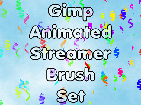 Gimp Animated Streamer Brushes by he4rty