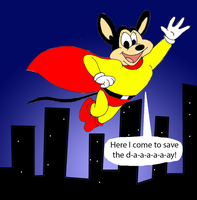 30 years of Mighty Mouse: the New Adventures by Trey-Vore