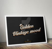 Retro and Vintage Text Effects No.1 by GreyFoxGR