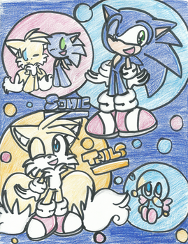 Sonic and Tails (finished) by BlueChaosRing