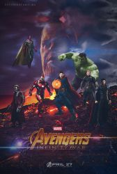 Avengers.Infinity.War.2018.Low-Size.Poster.By.Amir by AMIR-IMO
