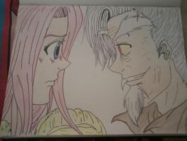 Fluttershy and Discord by yuna500