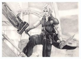 Cloud from Advent Children by ktalbot