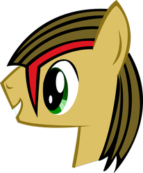 My first vector work! by Vector-Brony