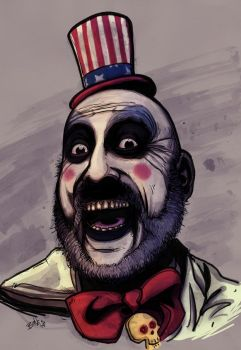 CAPTAIN SPAULDING by mister-bones