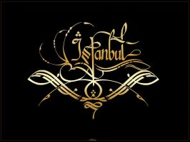 istanbul calligraphy by silent-07