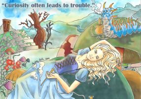 Curiosity Often Leads to Trouble by blackxCanary