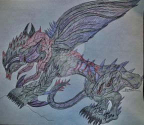 The Abyssmal Dragon by DaedalusRedoudt