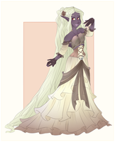 Rhyza Asheart: Ball Gown by VioletKy