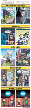 DORKLY: Star Wars Rogue One Vs. The Phantom Menace by GeorgeRottkamp