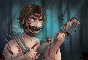 Gronkh // Dead By Daylight by anouki-morgenstern