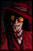 Alucard portrait by Anarchpeace