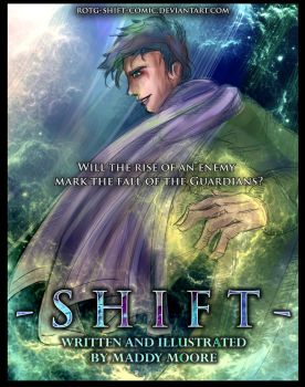 SHIFT COMIC COVER by cirquedelart